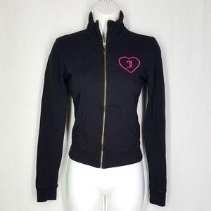 Juicy couture jacket, size Small, black sweatshirt